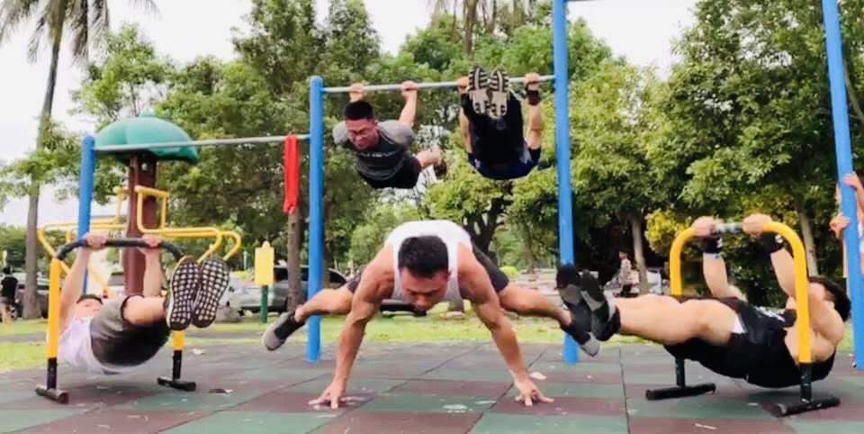 台東街頭健身團練