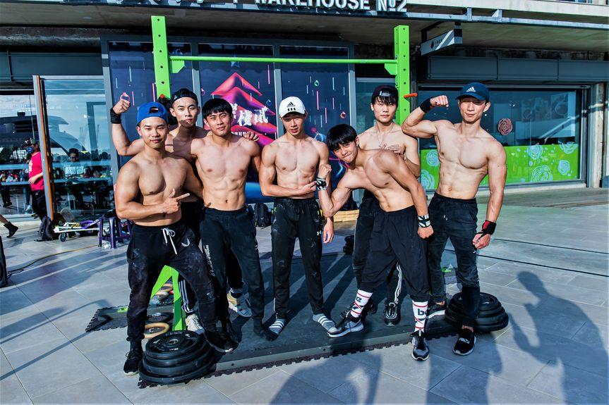 街頭健身團體